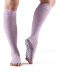 ToeSox Half Toe Knee High in Diamond Freesia