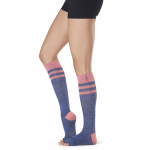 ToeSox Half Toe Knee High Grip Socks in Jazz