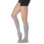 ToeSox Half Toe Knee High Grip Socks in Maniac
