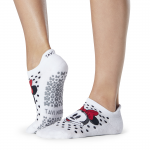 Tavi Noir Savvy Grip Socks in Polka Dot Minnie