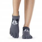 ToeSox Full Toe Low Rise Grip Socks in Mickey Cheer