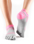 ToeSox Sport Socks Lolo in 4AM Flush