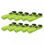 Box of 10 Lime Green 2m Yoga Belts