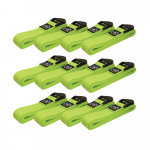 Box of 12 Lime Green 2m Yoga Belts