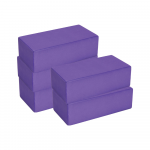 Box of 30 Purple Yoga Bricks