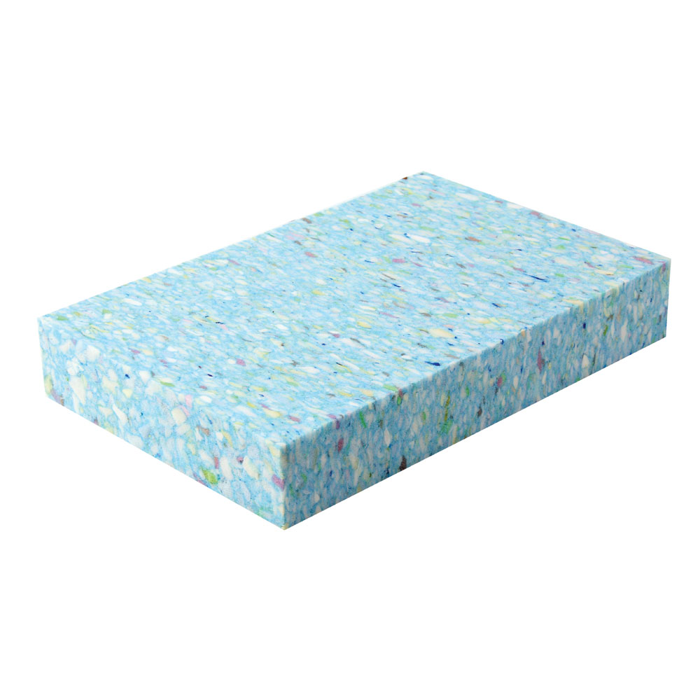 Recycled chip foam yoga block yoga blocks props mad hq for Foam block house