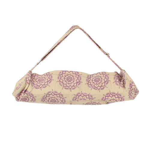Mandala Patterned Yoga Mat Bag