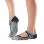 Tavi Noir Chey Grip Socks in Moon Stripe