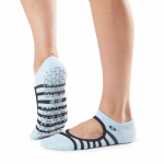 Tavi Noir Chey Grip Socks in Sky Stripe