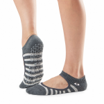 Tavi Noir Chey Grip Socks in Space Stripe