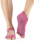ToeSox Half Toe Bellarina in Ruby