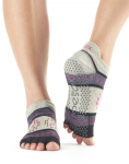 ToeSox Half Toe Low Rise in Moonshadow
