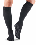 ToeSox Full Toe Knee High in Onyx