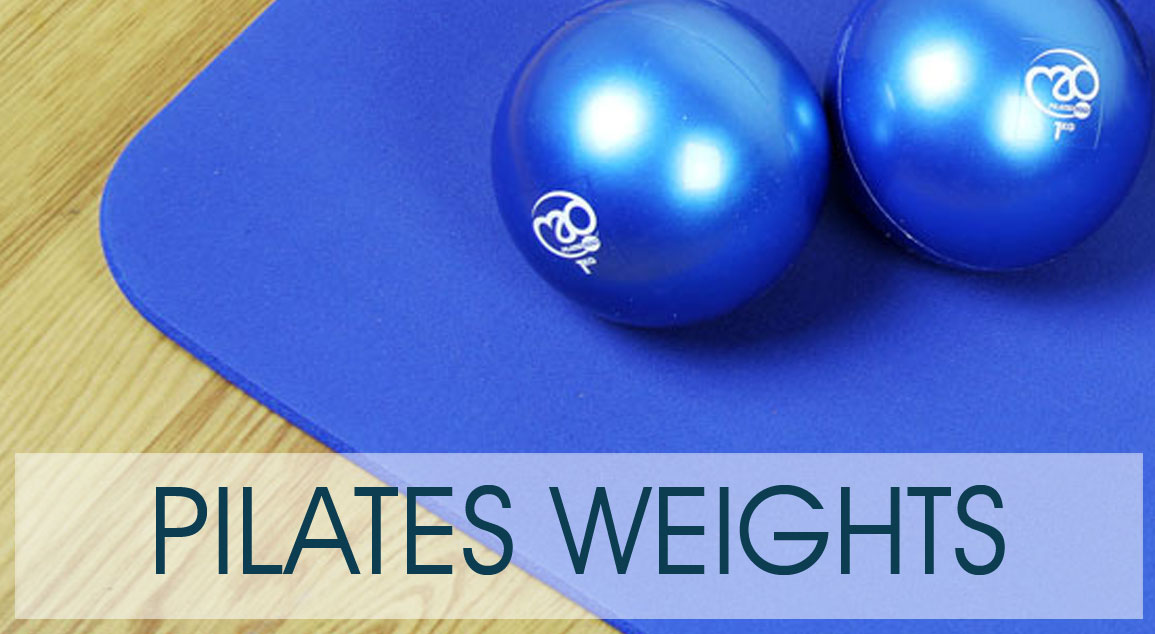 Pilates Weights for Pilates matwork