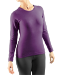 Long Sleeved T-Shirt by Gossypium - Intense Violet