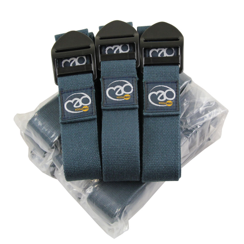 Box of 12 Dark Blue Yoga Belts