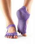 ToeSox Half Toe Bellarina in Light Purple