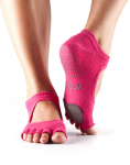Dance ToeSox Without Toe Plie Fuchsia