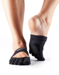 ToeSox Full Toe Releve Dance Socks in Black
