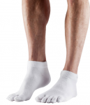 ToeSox Lightweight Ankle in White