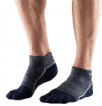 ToeSox Mediumweight Ankle in Navy Blue