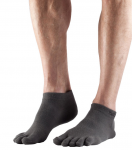 ToeSox Ultralight Ankle in Grey
