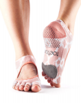 Dance ToeSox Without Toe Plie in Shine