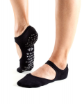 Tavi Noir Chey Grip Socks in Ebony
