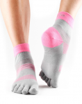 ToeSox Sport Sock Minnie - 4AM Flush